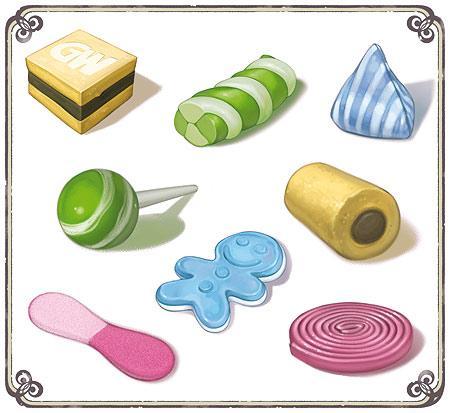 Bonbons von GameWorks/Asmodee