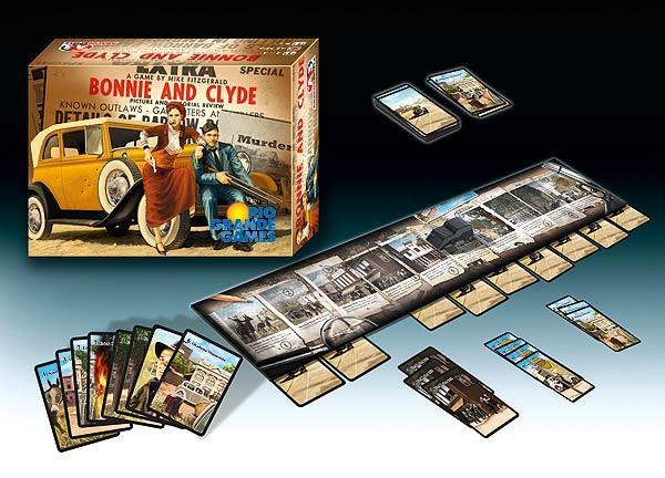 Bonnie und Clyde von Abacusspiele