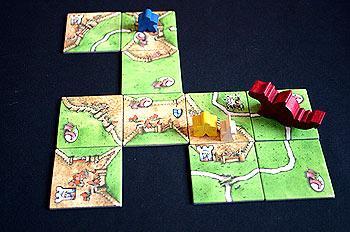 Carcassonne - Burgfräulein und Drache von Reich der Spiele