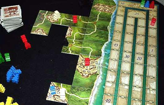 Carcassonne - Mayflower von Reich der Spiele