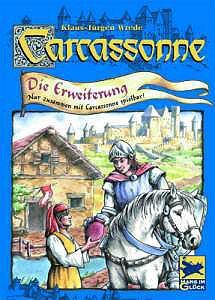 Carcassonne - Die Erweiterung von Hans im Glück