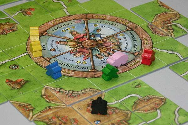 Carcassonne - Das Schicksalsrad von Reich der Spiele