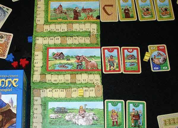 Cardcassonne von Reich der Spiele