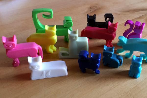 Solo-Puzzlespiel Cat Stax / Foto: Steffi Münzer
