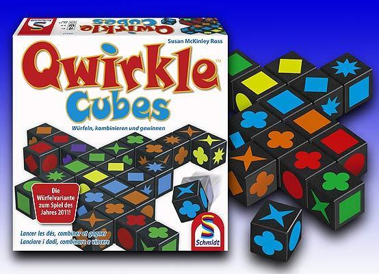 Qwirkle Cubes von Schmidt Spiele