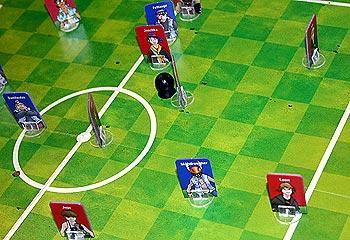 Das Dampfhammerharte Fußball-Spiel von Reich der Spiele