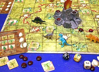 Das große Dinosaurierspiel von Reich der Spiele