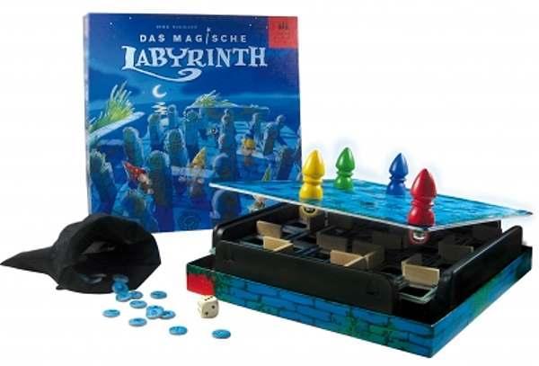 Das Magische Labyrinth von Drei Magier Spiele