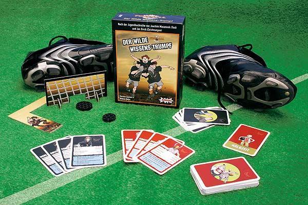 Die Wilden Fußballkerle - Der wilde Wissens-Trumpf von Amigo Spiele