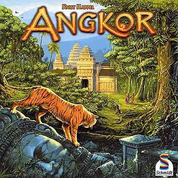 Das Schachtelcover von Angkor bringt Stimmung rüber von Michael Menzel