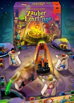Die Kleinen Zauberlehrlinge von Drei Magier Spiele