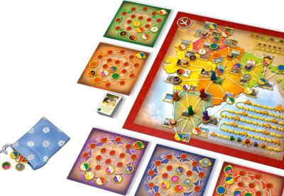 Discover India von Queen Games