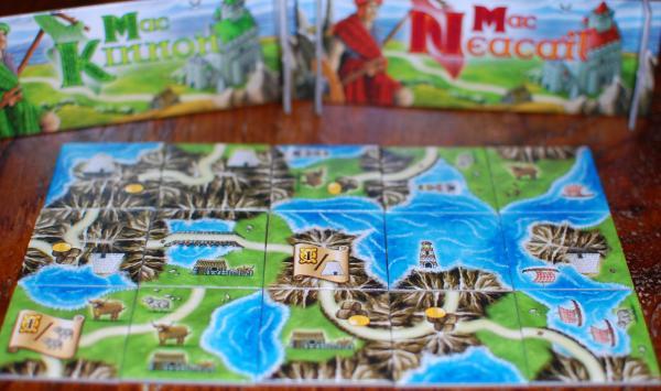 Gesellschaftsspiel Isle of Skye, Spielszene, Foto: Hendrik Breuer