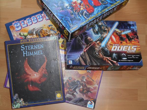 Alte Spiele - Foto von Jürgen Strobel