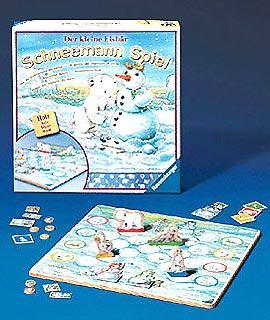 Der kleine Eisbär - Schneemann Spiel von Ravensburger