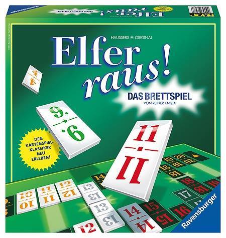 Elfer raus - Brettspiel von Ravensburger