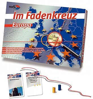 Europa-Wissen von Noris Spiele