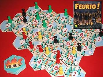 Feurio (Prototyp) von Reich der Spiele/Edition Erlkönig