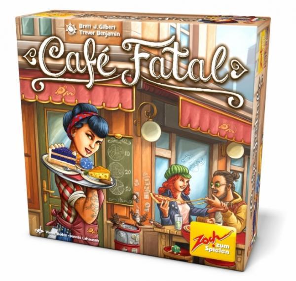 Würfelspiel Café Fatal - Foto von Zoch Verlag