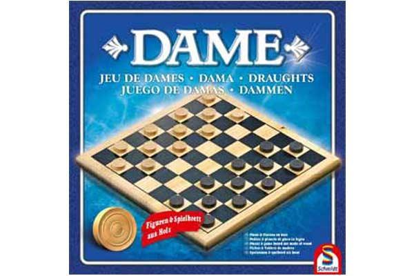 Brettspiel Dame - Ausgabe von Schmidt Spiele - Foto: Schmidt Spiele