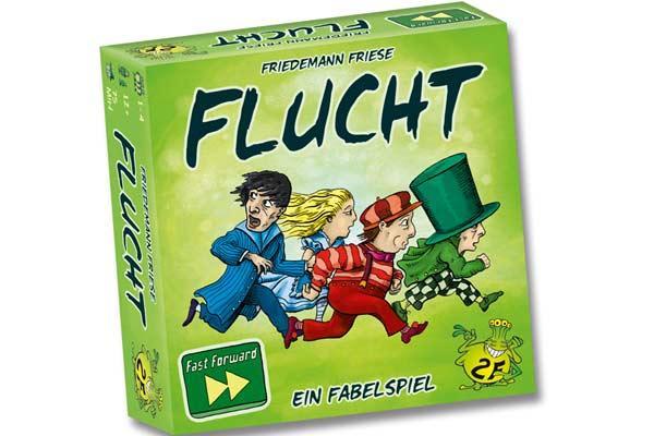 Fast-Forward-Spiel Flucht - Foto von 2F-Spiele
