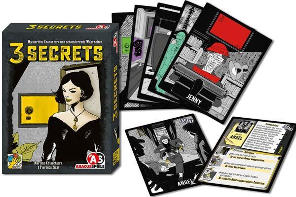3 Secrets - Foto von Abacusspiele