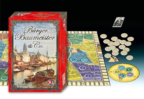 Bürger, Baumeister & Co. von Abacusspiele
