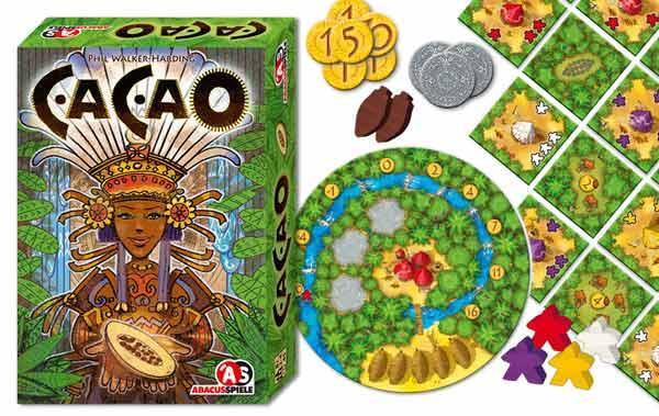 Legespiel Cacao - Foto von Abacusspiele