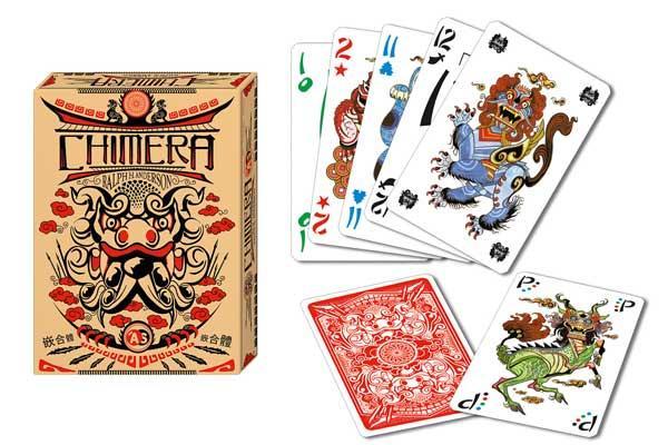 Kartenspiel Chimera - Foto von Abacusspiele