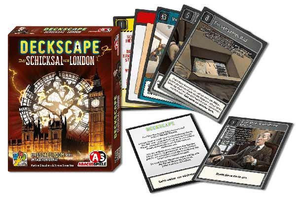 Deckscape: Das Schicksal von London - Foto von Abacusspiele