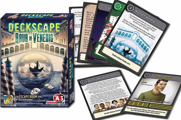 Deckscape: Raub in Venedig - Foto von Abacusspiele