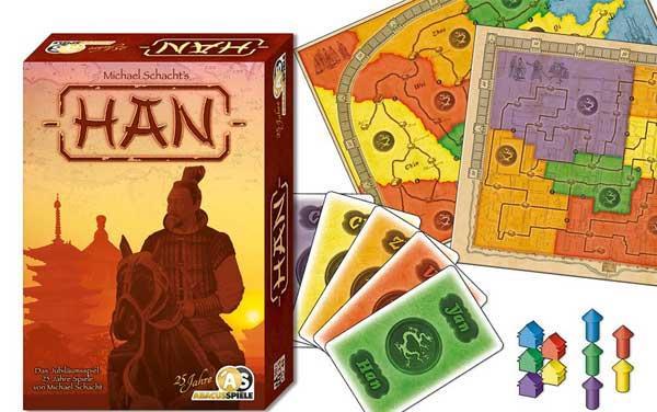Strategiespiel Han - Foto von Abacusspiele
