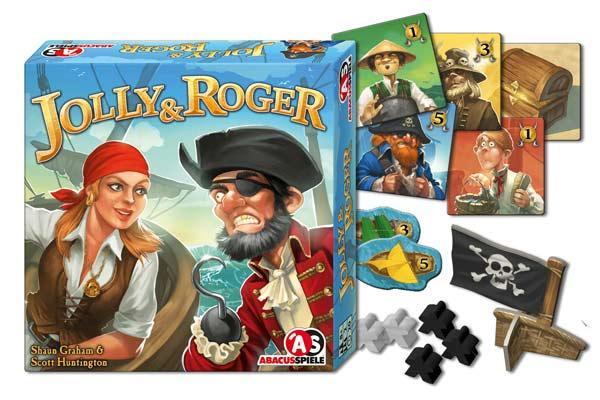 Jolly & Roger - Foto von Abacusspiele