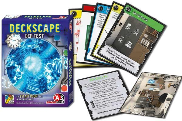 Deckscape: Der Test - Foto von Abacusspiele
