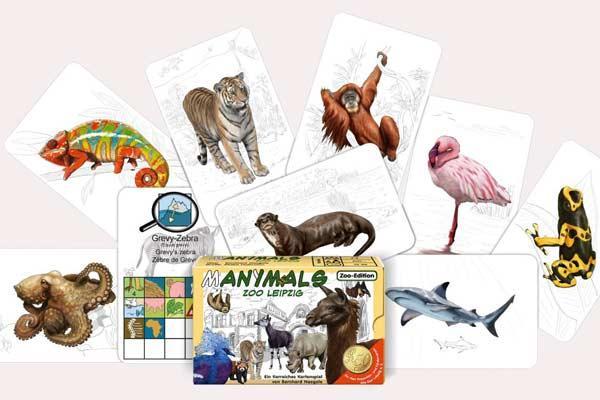 Manimals: Zoo Leipzig - Foto von Adlung Spiele