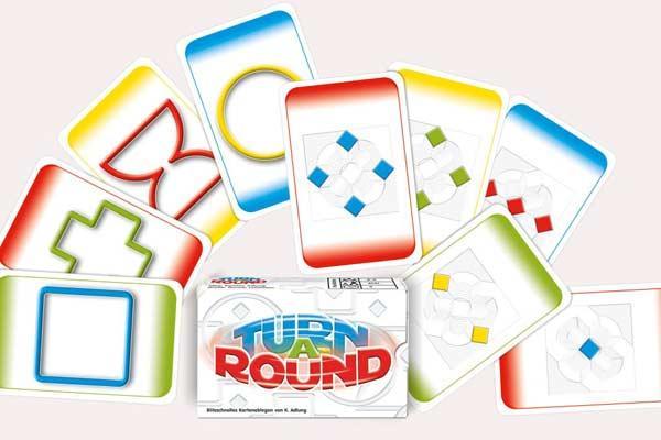 Kartenspiel Turn A-Round - Foto von Adlung Spiele