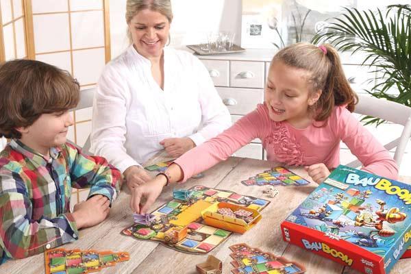 Kinderspiel Bauboom - Foto von Amigo Spiele