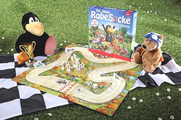 Der kleine Rabe Socke: Das große Rennen - Foto von Amigo Spiele