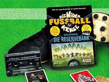 Die wilden Fußballkerle - Die Reservebank von Amigo Spiele