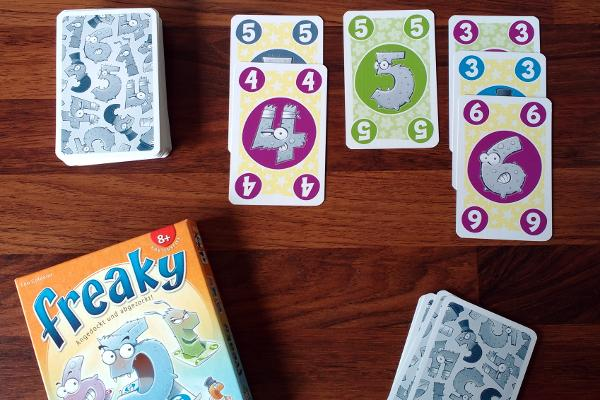 Kartenspiel Freaky, Bild: Steffi Münzer