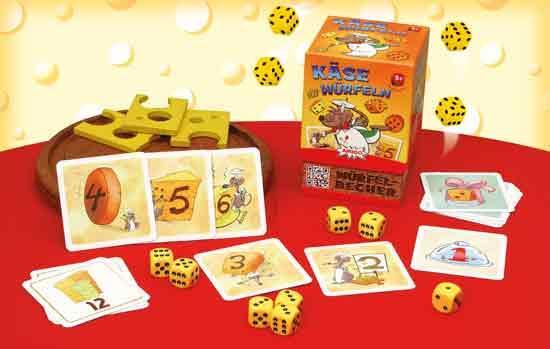 Familienspiel Käse würfeln - Foto von Amigo Spiele
