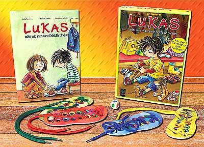 Lukas - oder wie man eine Schleife bindet von
