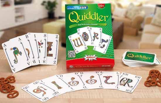 Kartenspiel Quiddler - Foto von Amigo Spiele