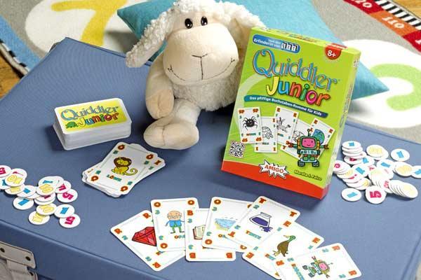 Kartenspiel Quiddler Junior - Foto von Amigo Spiele