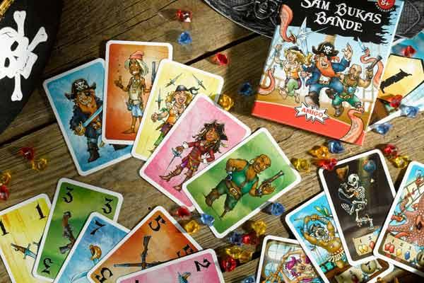 Kartenspiel Sam Bukas Bande - Foto von Amigo Spiele