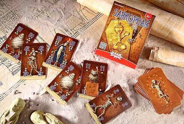 Kartenspiel Sarkophag - Foto von Amigo Spiele