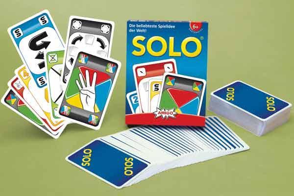 Kartenspiel Solo - Foto von Amigo Spiele