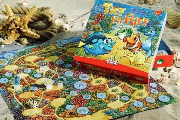 Kinderspiel Tief im Riff - Foto von Amigo Spiele