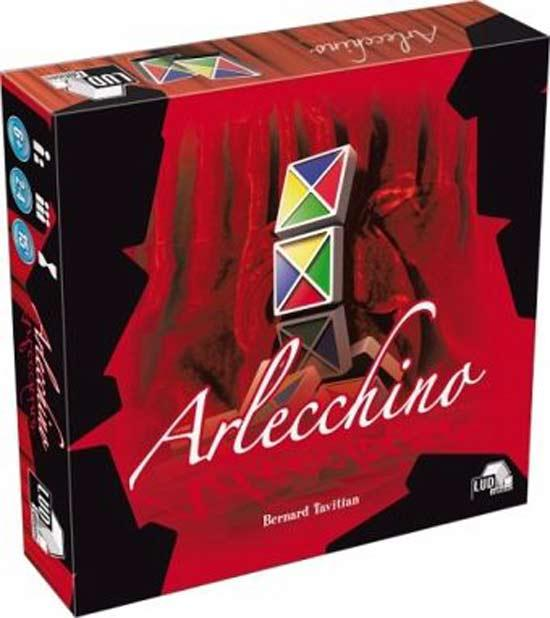 Gesellschaftsspiel Arlecchino - Foto von Asmodee