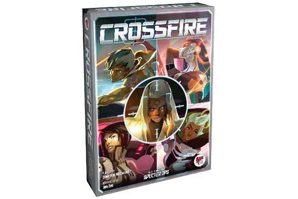 Gesellschaftsspiel Crossfire - Foto von Asmodee